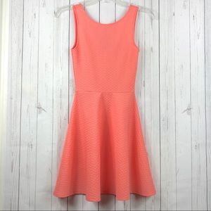 Divided by H&M Coral Skater Dress Size 2